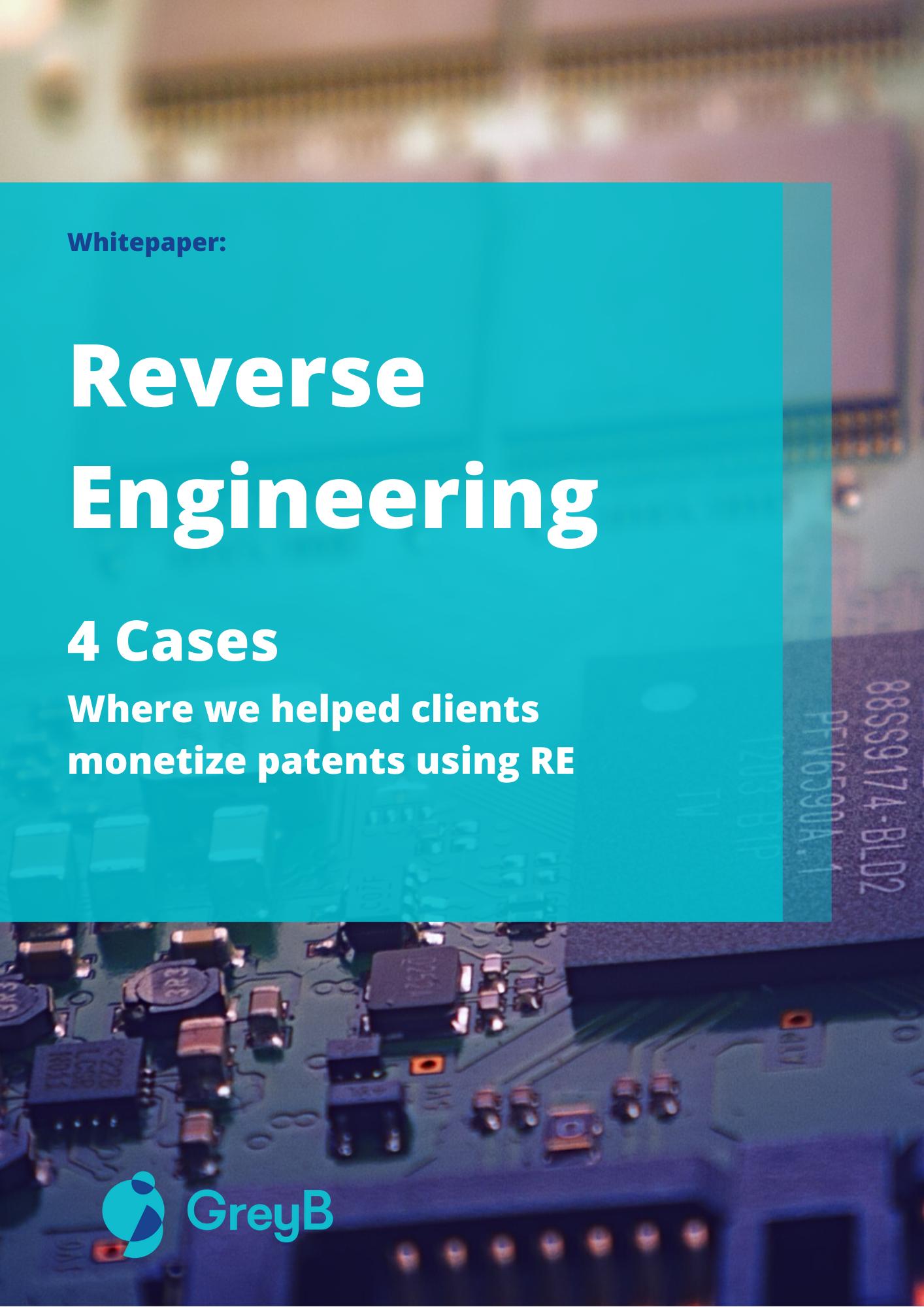 Whitepaper - Reverse engineering patent infringement case study